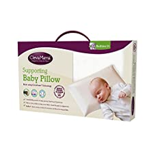 Clevamama ClevaFoam Baby Pillow, Cream