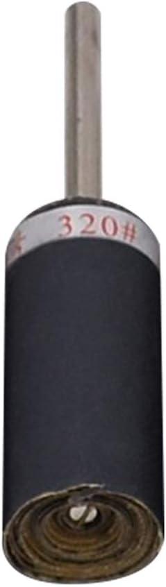 dna18729nd Durable Jade Porcelain Polishing Stick Roll Sandpaper Deburring Flap Wheel Grinding Head 600 Grit