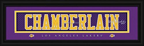 Los Angeles Lakers Wilt Chamberlain Print - Signature 8