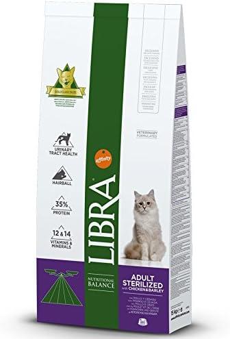 LIBRA Affinity Gatos Esterilizados - 15 kg: Amazon.es: Productos ...