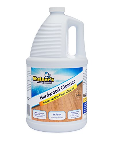 Hardwood Floor Bottle (Sheiner's Hardwood Floor Cleaner for Wood and Laminate Floors and Surfaces, 1 Gallon)