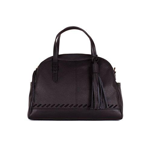 olivia-joy-liv-women-handbag-laci-leather-dome-top-handle-satchel-bag-black