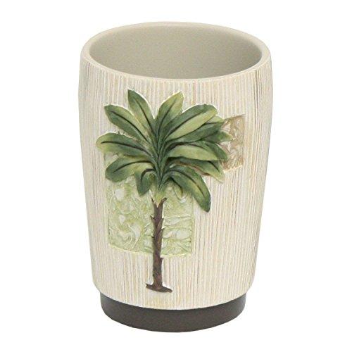 Bacova Guild Citrus Palm Tumbler Cup (Tumbler Tree)
