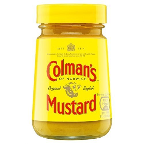 (Colman's English Wet Mustard 100g (England) (6 Pack) by British Delights)