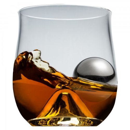 Rox and Roll 4 Piece Old Fashioned Glass Set - 4 Piece Old Fashioned Glass