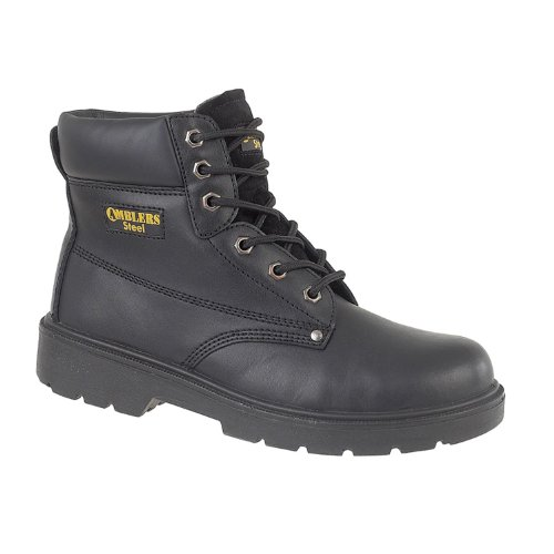 Fs159 S3 Boots Mens Amblers Black Safety Leather ZqEpExHv