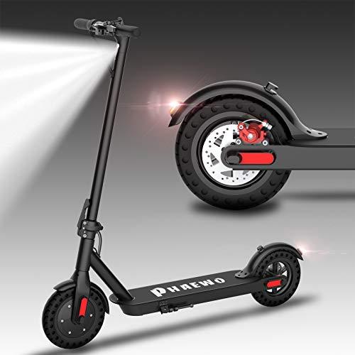Kugoo Patinetes eléctricos Adulto, Potente Motor de 250 W, neumáticos sólidos de 8.5″, hasta 25 km/h, Scooter eléctrico Ultraligero Plegable para Adultos y Adolescentes (ES Garantía)