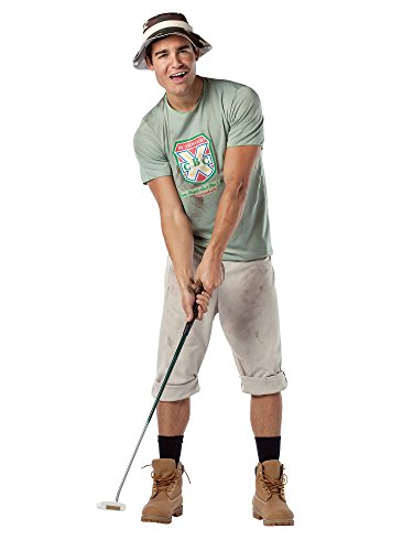Caddyshack Carl Spackler Costume - One Size - Chest Size 42-48 (Carl Costume)