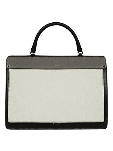 Furla Damen 903475 Multicolour Leder Handtaschen