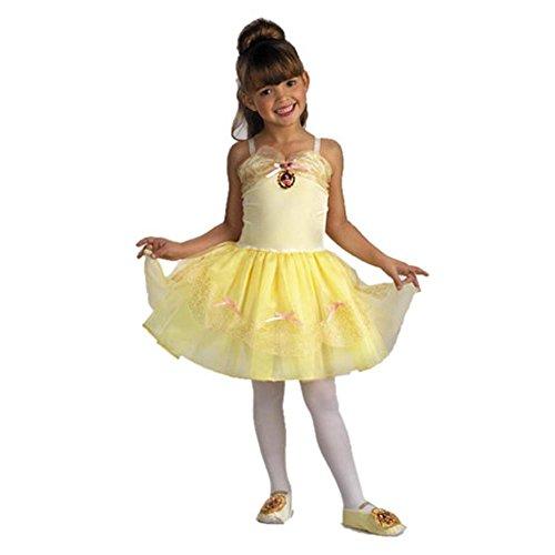 Belle Ballerina Costume Toddler Girl - Toddler - Belle Girls Costume Ballerina