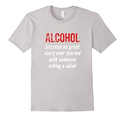 Alcohol Party T-Shirt, Funny Tee for Parties and College!