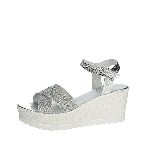 Cinzia Soft IG9735 001 Sandale Femme Argent Kl7FSGdNE
