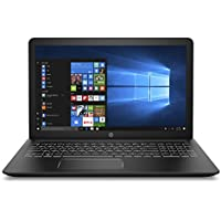 HP Pavilion Power 15-inch Laptop, Intel Core i7-7700HQ, 12GB RAM, 1TB hard drive, AMD Radeon RX 550, Windows 10 (15-cb071nr, Black)