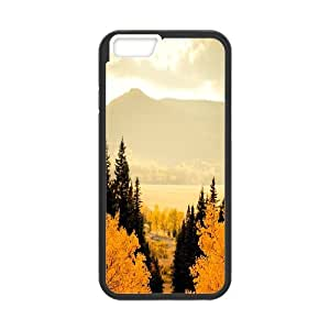 IPhone 6 Plus Cases Autumn Maple Red, Case for Iphone 6 Plus for Men - [Black] Okaycosama