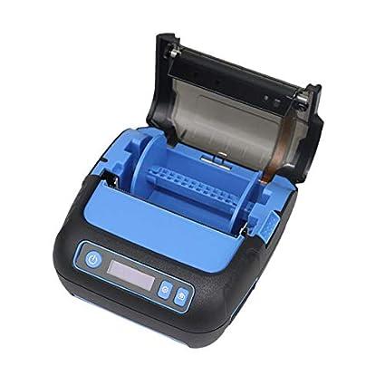 SODIAL Impresora TéRmica PortáTil de 80 Mm Impresora de ...