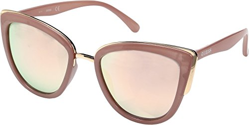 GUESS Unisex GF0313 Milky Blush/Rose Gold Mirror Lens One Size