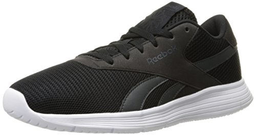 Reebok Men's Royal Ec Ride Fashion Sneaker, Black/Gravel/White, 11 M US