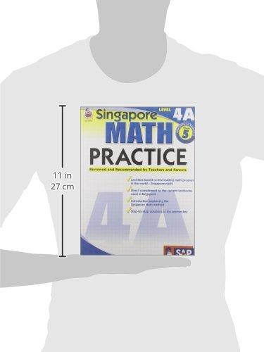 Amazon.com: Singapore Math Practice, Level 4A, Grade 5 ...