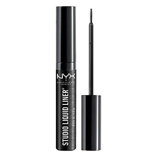 NYX Professional Makeup Studio Liquid Liner,SLL102 Extreme Black, 1 Count