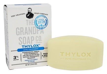 Thylox Medicated Soap Grandpa Soap Company 3.25 oz. Bar (Bath Ounce 3.25 Bar)