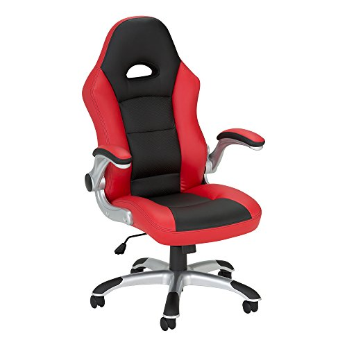Method - Computer Gaming and Office Chair by SkyLab Performance Seating F.C., Red/Black School Outfitters