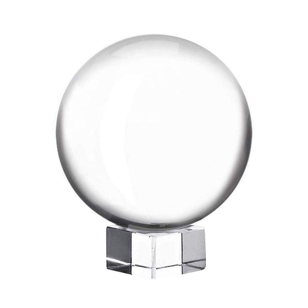 NSN Crystal Ball ClearestK9OpticalPhotographyGlass for Fortune Telling Divination ValentinesDay Weddings Anniversary Photography by NSN