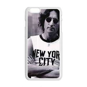 John Lennon New York city Design Hard Case Cover Protector For Iphone 6 Plus