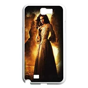 C-EUR Diy Phone Case Pirates of the Caribbean Pattern Hard Case For Samsung Galaxy Note 2 N7100