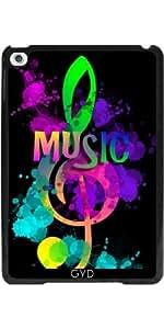 Funda para Apple Ipad Mini 4 - La Música Del Arco Iris Clave De Sol by Blingiton