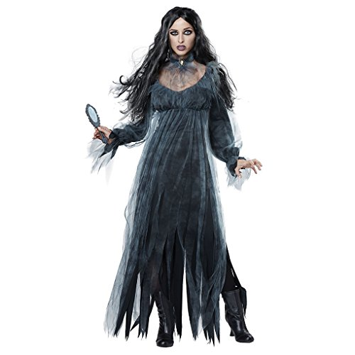 Corpse Bride Costumes - Halloween Dead Corpse Bride Costume Long Dress Scary Zombie Ghost Bridal Cosplay