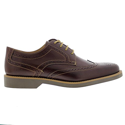 Tacto Brogues amp; Black Co Tucano Leather Anatomic Café w0H7zqaT