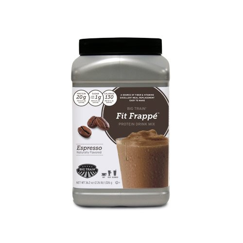 Fit Frappe Protein Drink Mix, Espresso, 2.26-Pound Jug