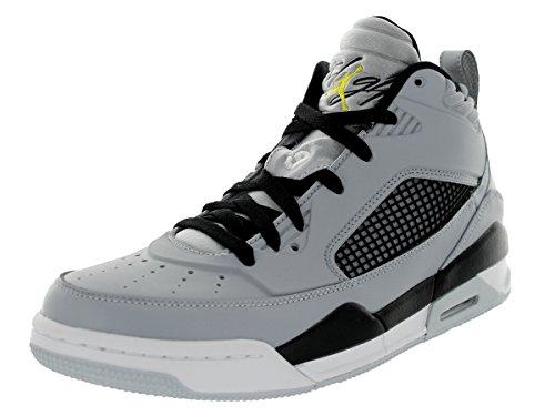 Jordan volo 9,5da uomo sneakers 654262–070 Wolf Grey/Black/PURE PLATINUM/Vibrant Yellow