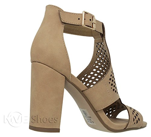 Nat Out Women's Toe MVE Shoes Open Nbpu i Chunky Heel Cut Sandal wzqxnO