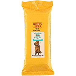 Burt's Bees For Dogs Multipurpose Grooming Wipes | Puppy and Dog Wipes For Cleaning, 50 Count