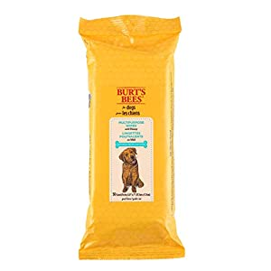 Burt's Bees For Dogs Multipurpose Grooming Wipes | Puppy and Dog Wipes For Cleaning, 50 Count 45