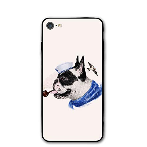 iPhone 7 Case Cool Dog Protective Shockproof Anti-Scratch Resistant Slim Cover Case for iPhone 7 Hard Shell -