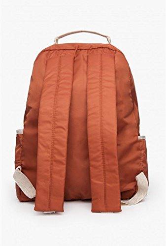 Bensimon - Bolso mochila  para mujer marrón óxido