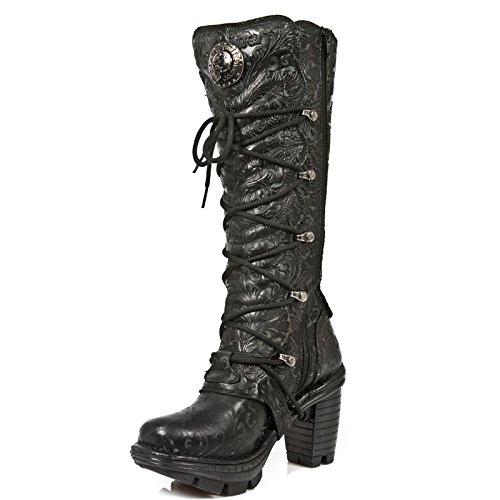 NR Womens Boots NEWROCK NEOTR014 S1 Black New M Rock 1w6xwdHq
