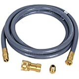 "GasSaf 10 Feet 1/2"" ID Natural Gas and Propane Gas Quick Connect Hose Kit -Quick Disconnect Gas Connect with 1/2 Female…"