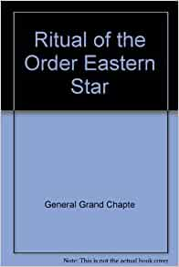 Order of the eastern star ritual book