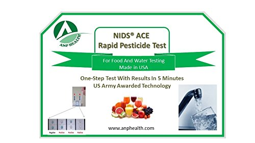 NIDS® ACE Rapid 5 Minute Pesticide, Toxic/Heavy Metal, & Arsenic Test (3 Tests/Pack) by ANP Health (Image #6)