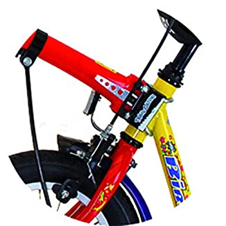 Trailgator Barra de remolque para bicicleta de niño BICICLETAS Y PIRULETAS 2