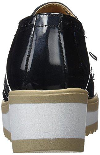 Sotoalto Me0110542, Zapatos con Plataforma Mujer Negro