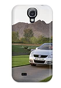 S4 Scratch-proof Protection Case Cover For Galaxy/ Hot Volkswagen Eos 10 Phone Case