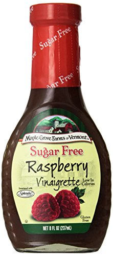 - Maple Grove Farms Sugar Free Raspberry Vinaigrette, 8 oz (Pack of 3)