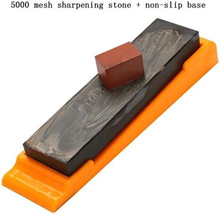 SGMYMX砥石 砥石の天然砥石5000メッシュの開口部の家庭用ナイフ刃ペディキュア刃特別な細かい石のパルプ石ブルーストーンを研削 ウェット砥石