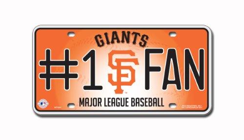 (MLB San Francisco Giants #1 Fan Metal Tag)