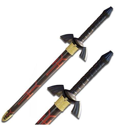 THE Black Legend of Zelda Real Steel Dark - Links Master Sword Real Steel