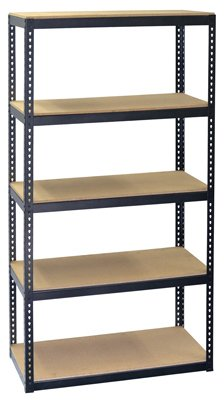Jaken Co. SCB0850D 5 Shelf Storage Unit, 16'' x 36'' x 72'' by Jaken Co.